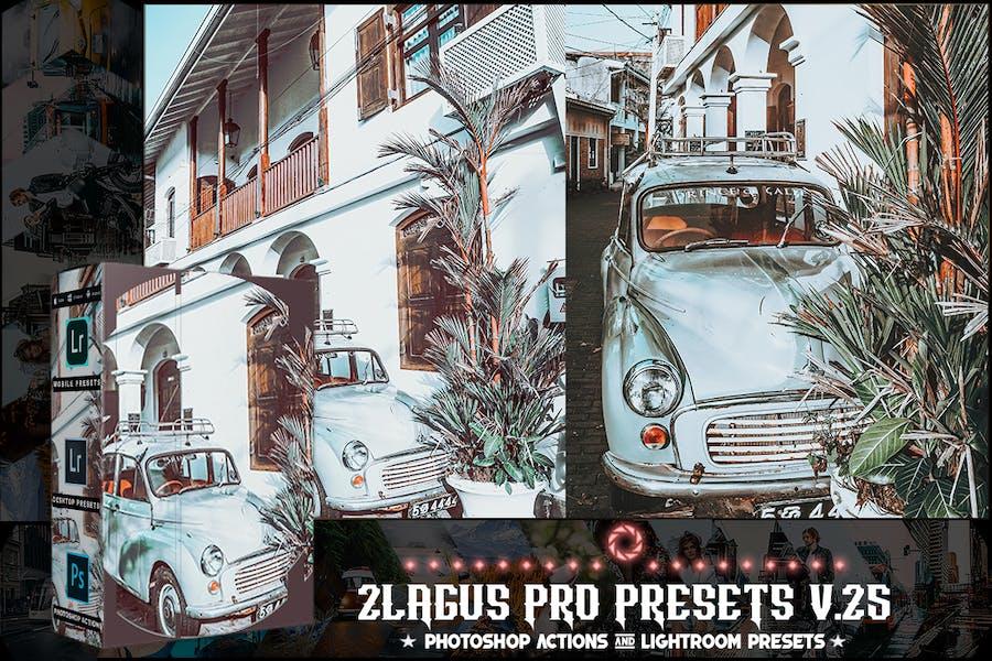 Пресеты PRO - V 25 - Photoshop и Lightroom