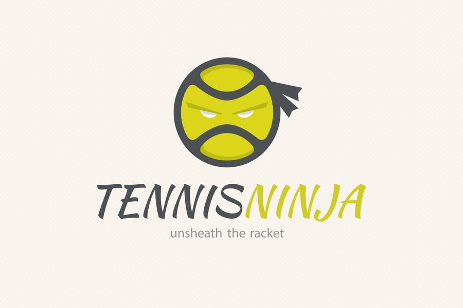 Tennis Ninja Logo