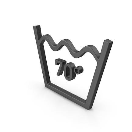 Textile Pflege-Symbol