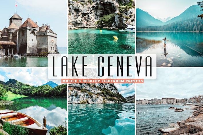 Thumbnail for Lake Geneva Mobile & Desktop Lightroom Presets