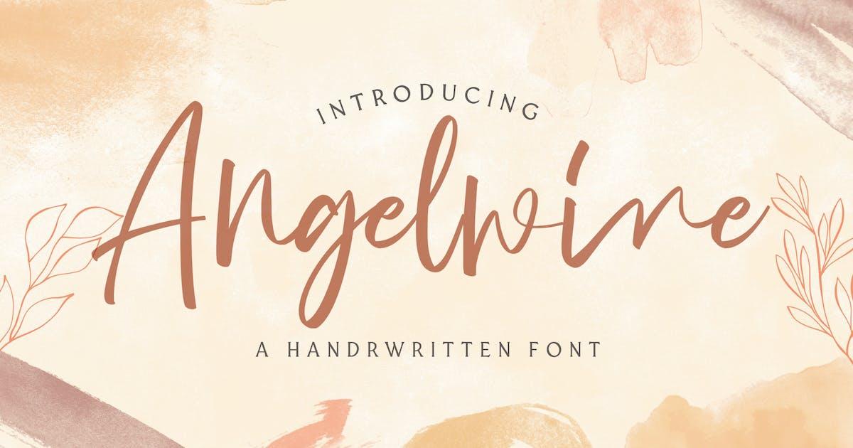 Download Angelwine - Handwritten Font by StringLabs