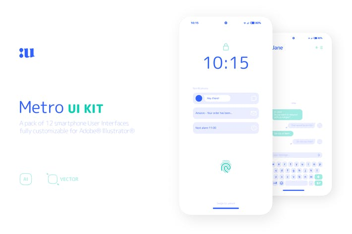 Thumbnail for Metro UI kit
