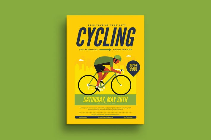 Thumbnail for Cycling Flyer