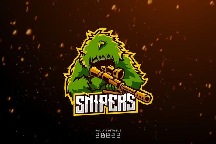 Sniper Sport and Esports Logos