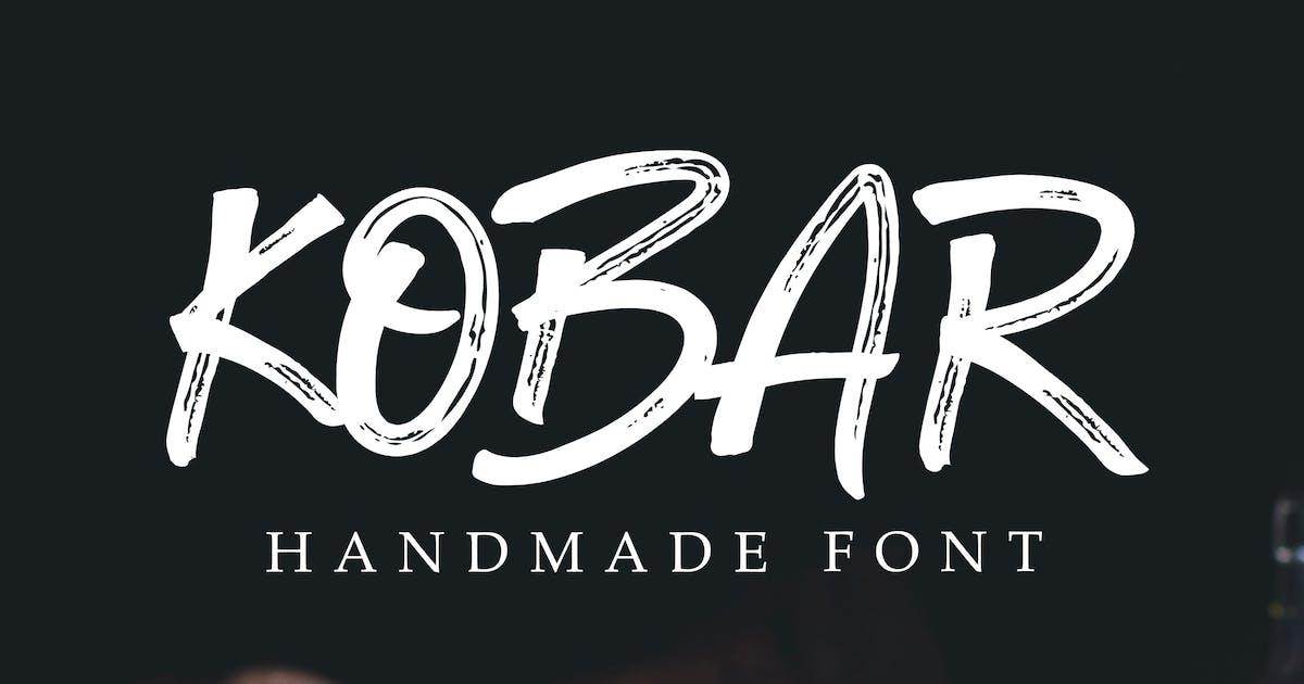 Download Kobar Rusty Font by shirongampus