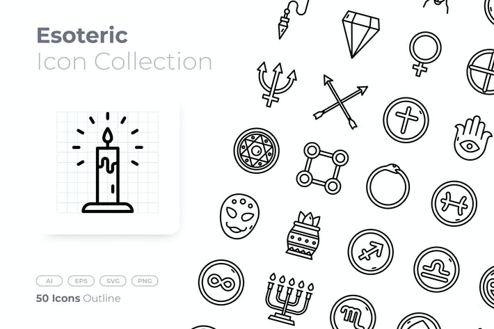 Esoteric Outline Icon