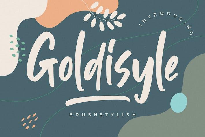 Goldisyle Brosse élégante