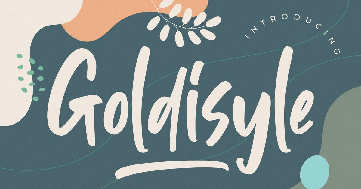 Download Goldisyle Brush Stylish by RahardiCreative