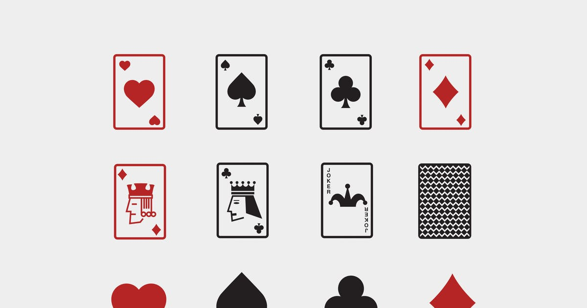Download 12 Playing Card Icons by creativevip