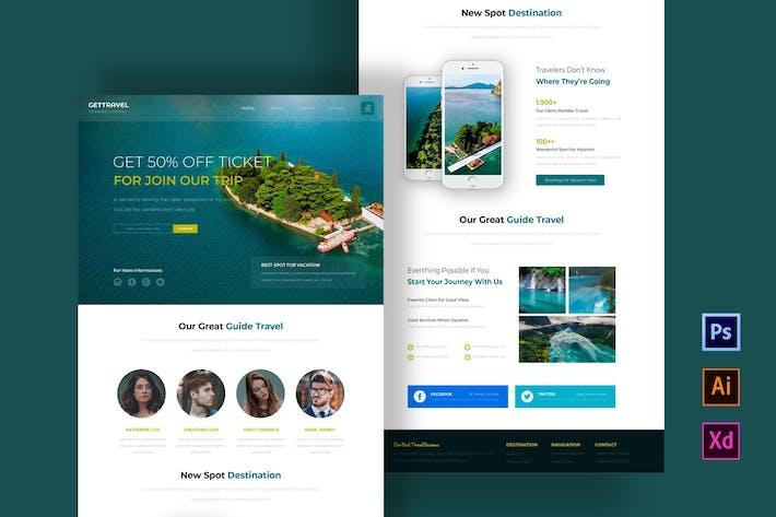Thumbnail for Recevez la newsletter Voyage