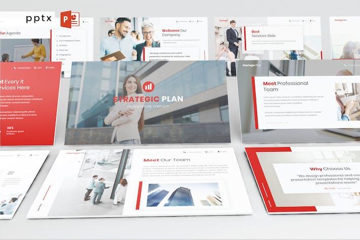 Thumbnail for Strategischer Plan - Powerpoint V434
