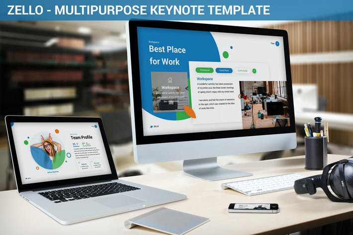 Thumbnail for Zello - Multipurpose Keynote Template