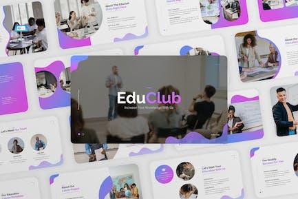 EduClub - Education Course Keynote Template