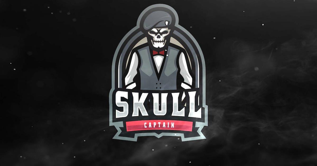 Download Skull Captain Sport Esports Logos by ovozdigital