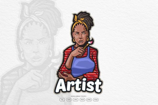 Paint Artist Logo
