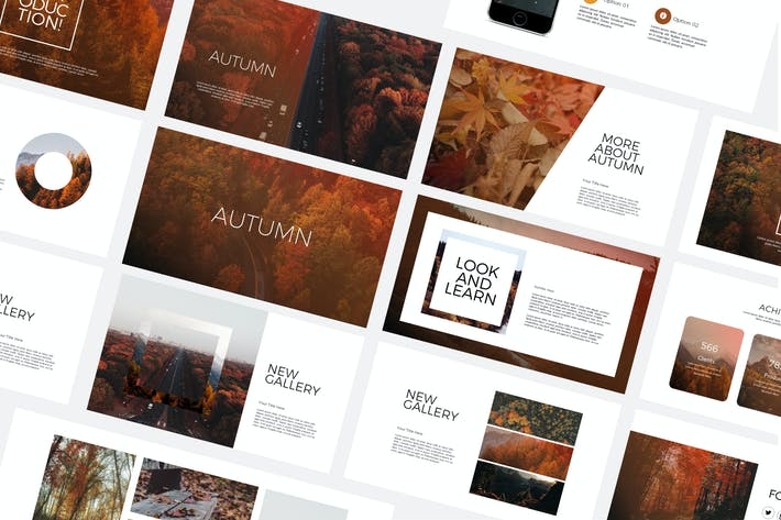 Thumbnail for Autumn - Powerpoint Templates