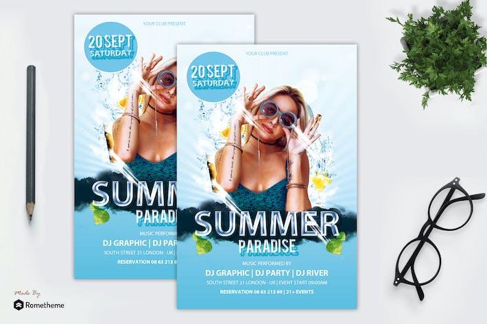 Thumbnail for Summer Paradise Folleto vol.1 MR