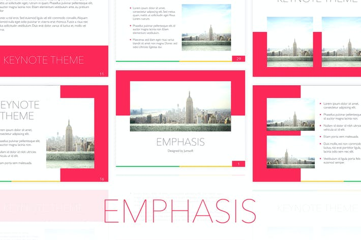 Thumbnail for Emphasis Keynote Template