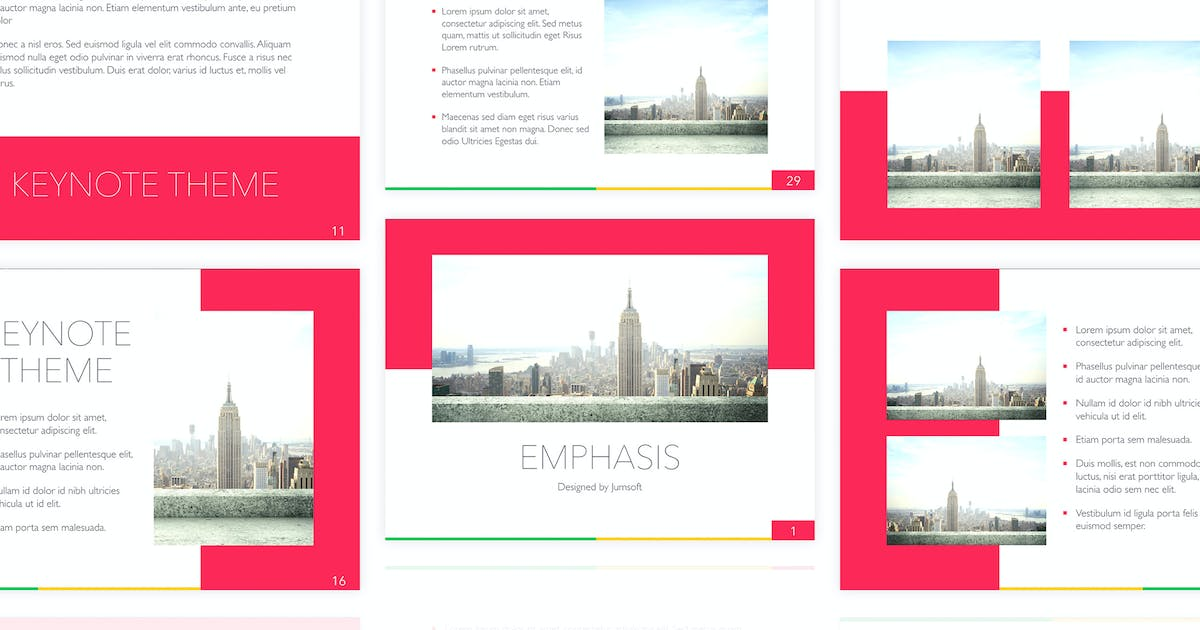 Download Emphasis Keynote Template by Jumsoft