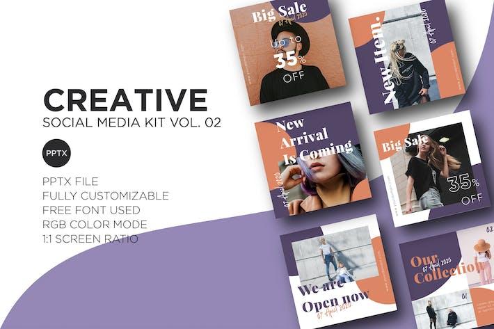 Thumbnail for Creative Social Media Kit Vol. 02