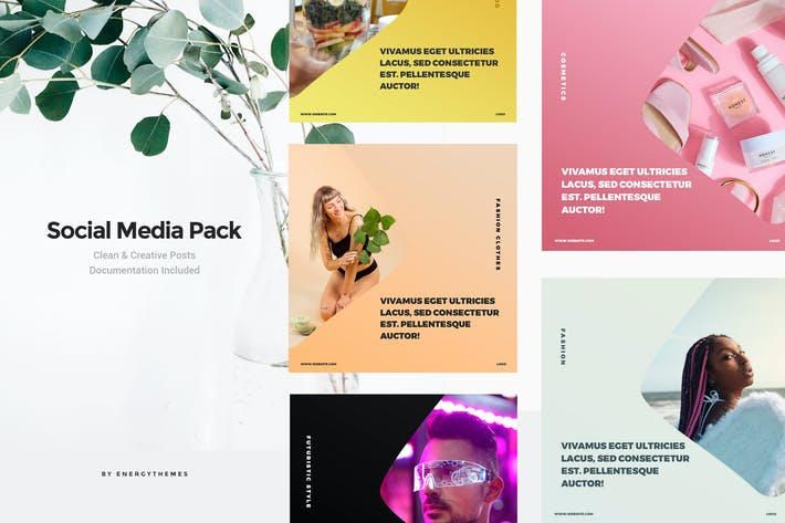 Thumbnail for Social Media Banners - Vol98