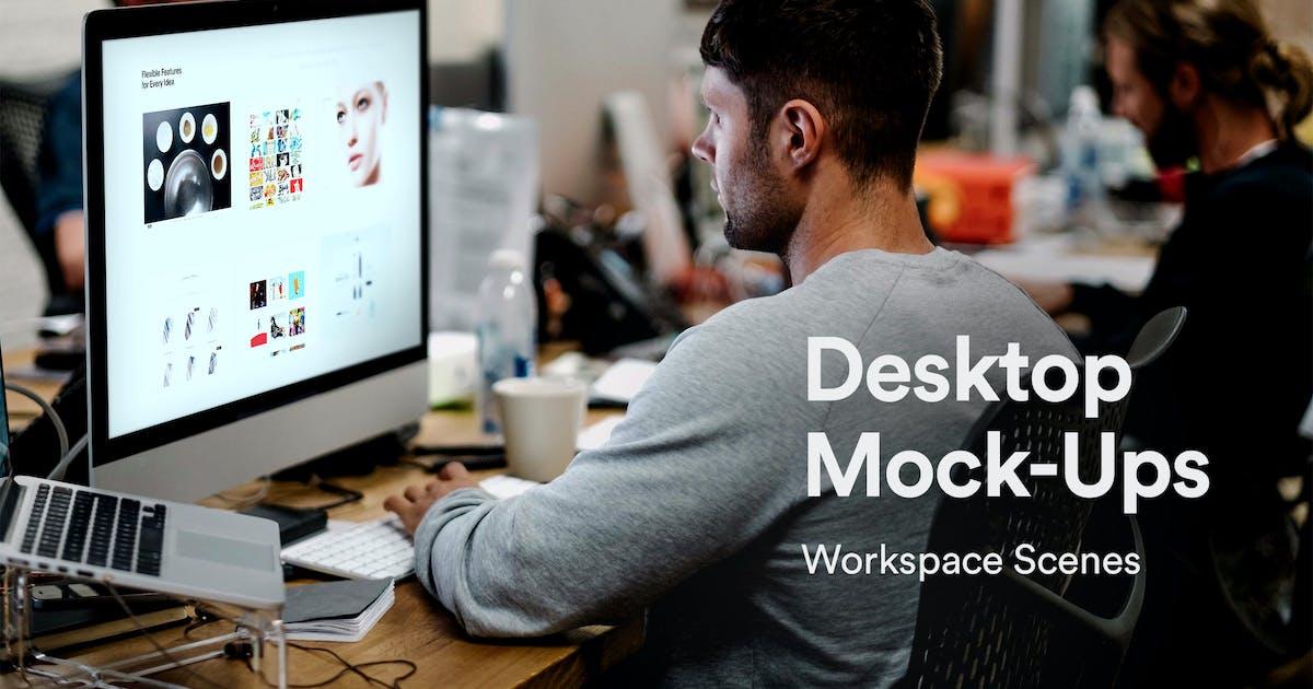 Download Desktop Mockups by itscroma