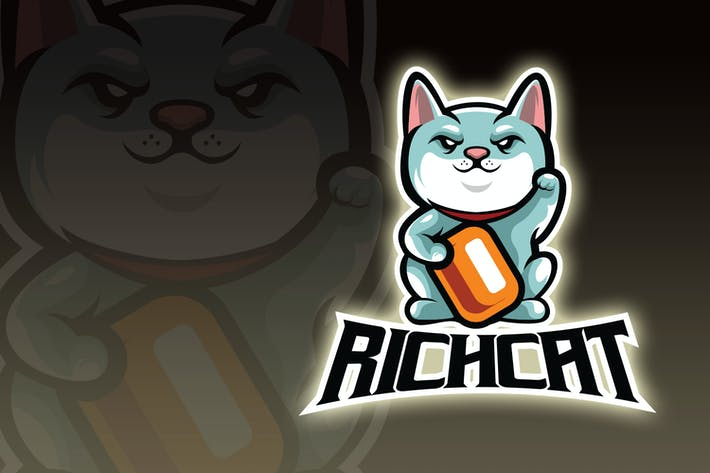 Logo Esport Chat Fortune Maneki-Neko