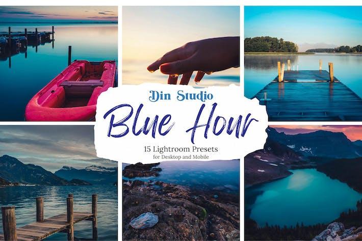 Thumbnail for Blue Hour Lightroom Presets