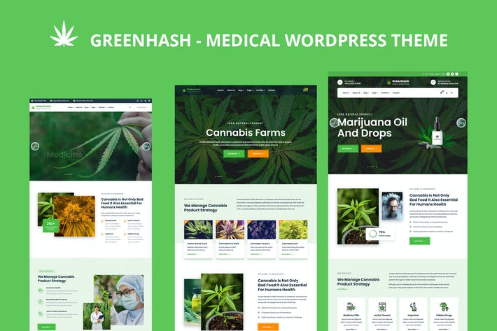 Greenhash - Medizinisches WordPress-Theme