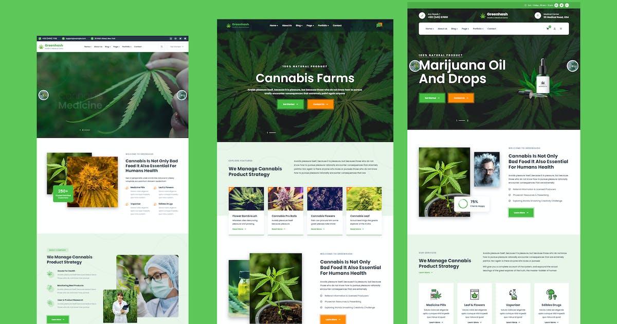Download Greenhash - Medical WordPress Theme by shtheme