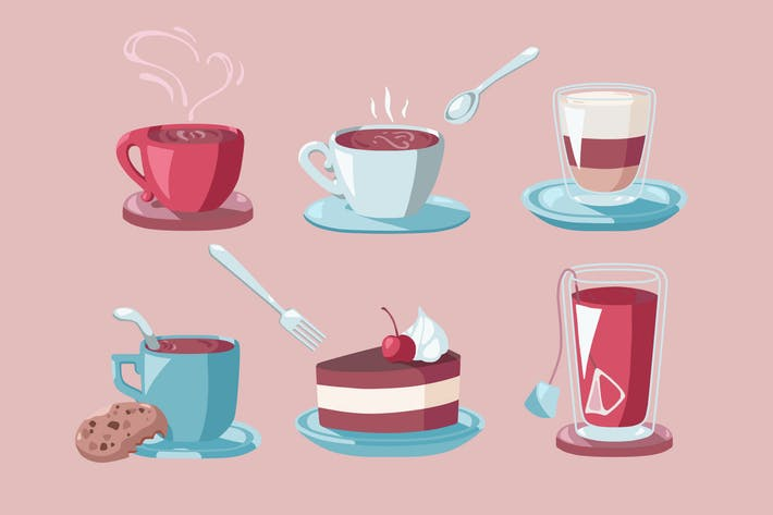 Thumbnail for Coffee Dessert Clipart