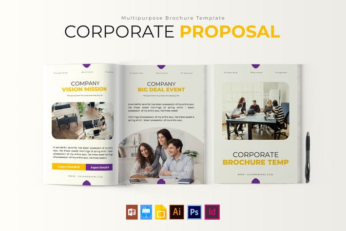 Thumbnail for Corporate | Brochure Template