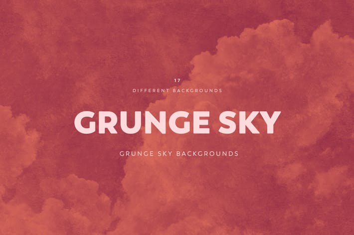 Thumbnail for Grunge SKY Backgrounds