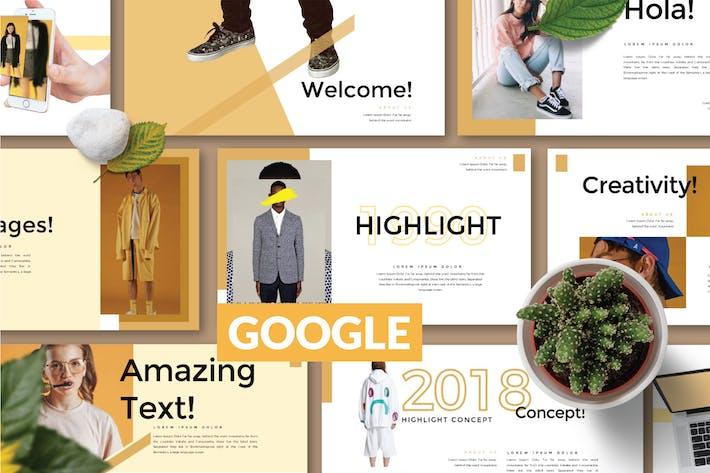Thumbnail for ВЫСОКИЙ Бизнес Слайд Google - LS