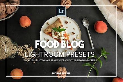 Food Blog Lightroom Presets