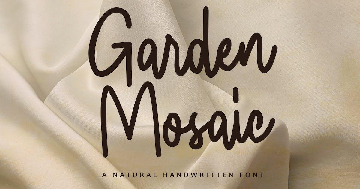 Download Garden Mosaic - beauty Handwritten by yipianesia