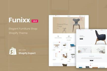 Funixx - Магазин элегантной мебели для Shopify