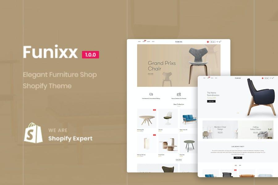 Funixx - Elegant furniture shop for Shopify