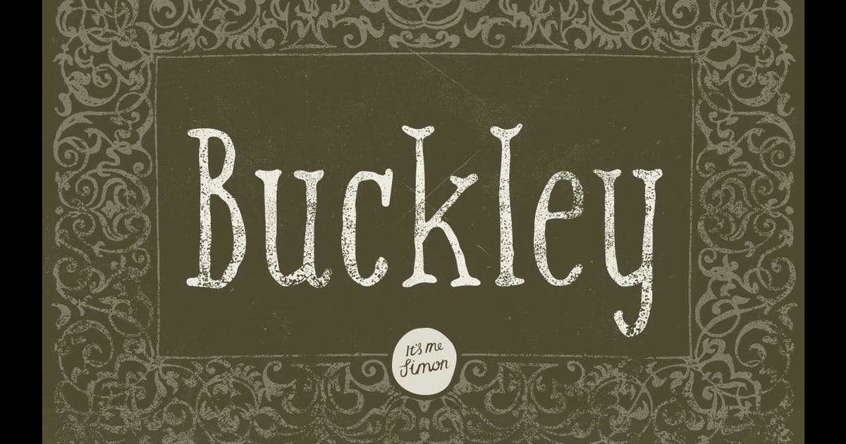 Download Buckley Serif by simonok