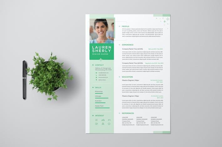 Clean Nurse Resume Pro