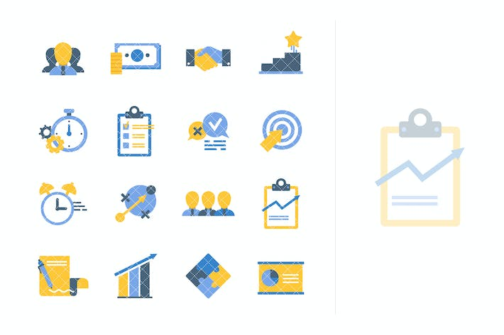 Thumbnail for Flat Business Icons