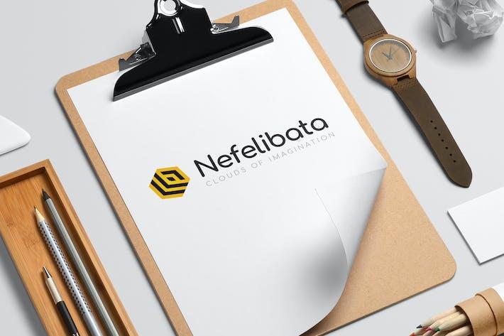 Thumbnail for Nefelibata logo template