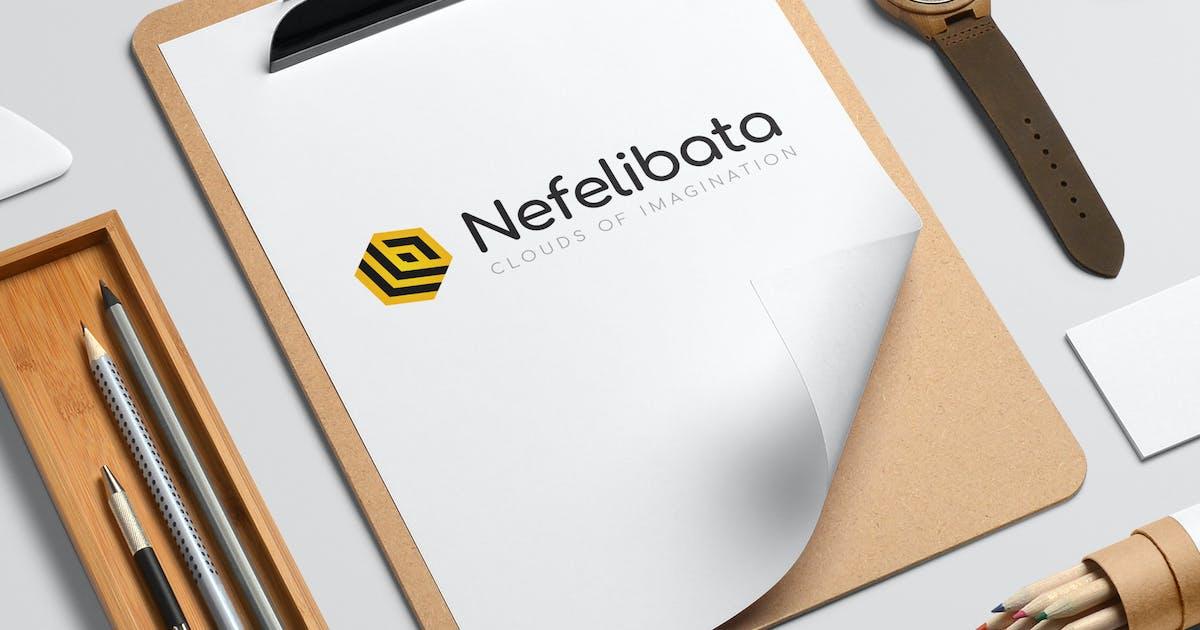 Download Nefelibata logo template by milktoast