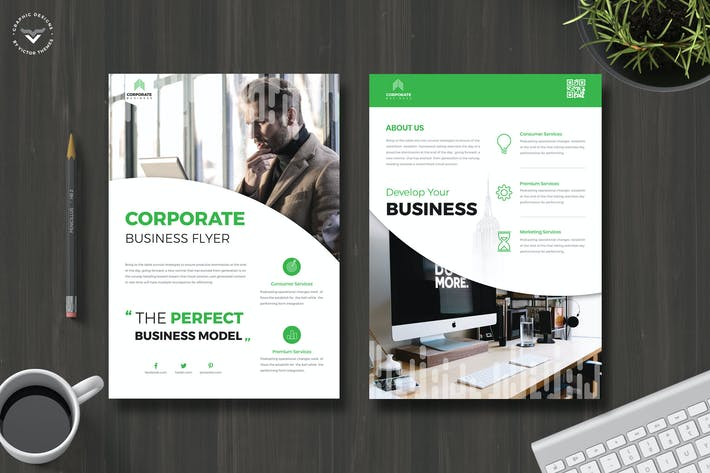Cover Image For Professional Business Flyer