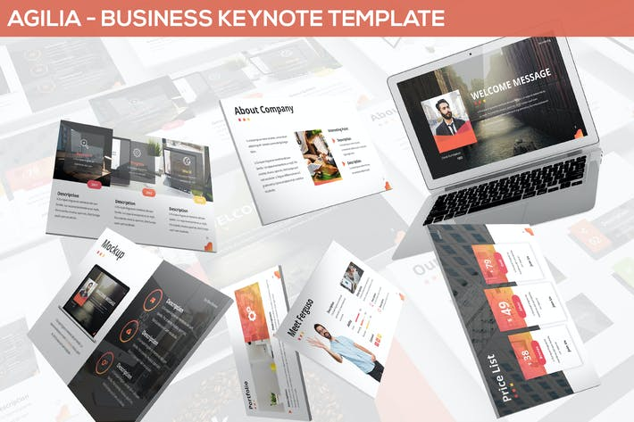 Thumbnail for Agilia - Business Keynote Template