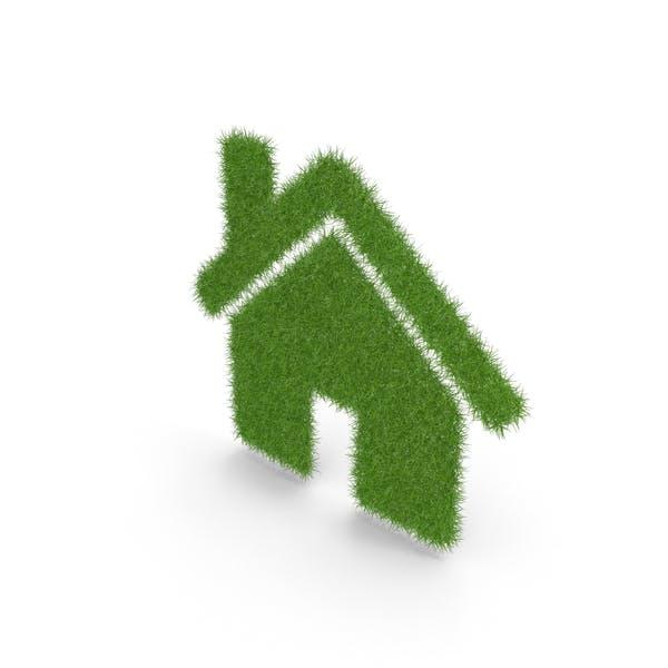 Símbolo de inicio de hierba