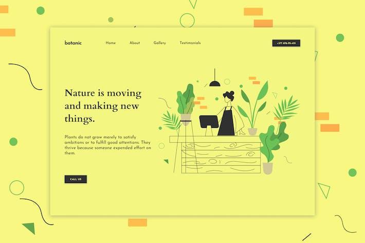 Thumbnail for Botanic - Plant Store Web Hero Template
