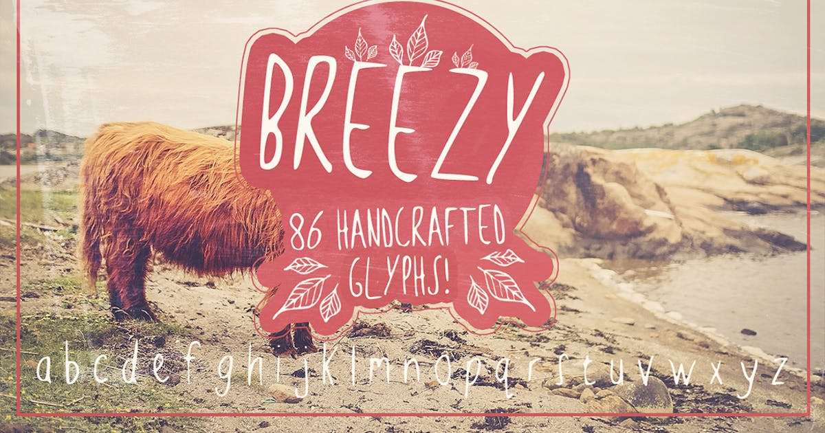 Download Breezy Handsketched Font by Layerform