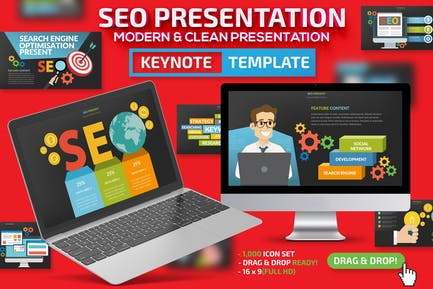 SEO Поисковая презентация Keynote