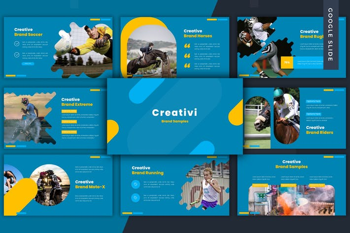 Creativiti - Google Slide Template